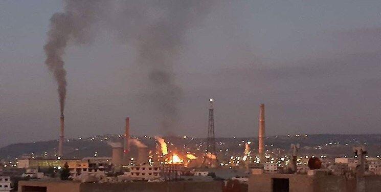 انقجار در پالایشگاه نفت بانیاس سوریه