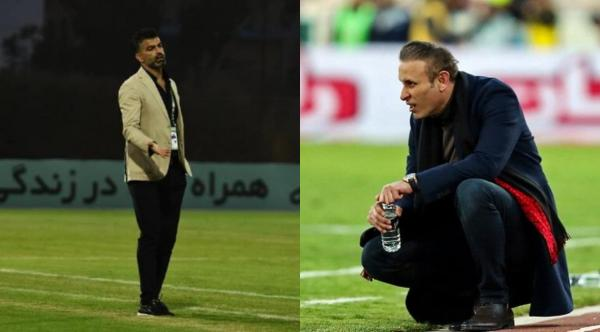 زوج خط دفاعی تیم ملی فوتبال ایران در جام جهانی 2006 مقابل هم؛ تقابل گل محمدی و رحمان رضایی با طعم انتقام
