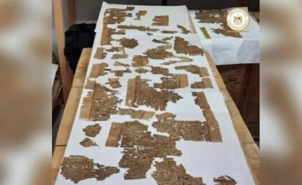 کشف بخشی از کتاب مردگان مصریان باستان