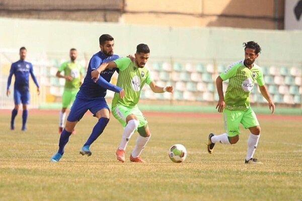 تساوی خانگی خیبر خرم آباد مقابل استقلال خوزستان