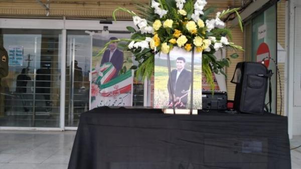 پیغام تسلیت استاندار کهگیلویه و بویراحمد در پی شهادت دکتر محمد زارع