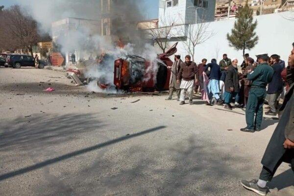 انهدام یک مینی بوس در پایتخت افغانستان، 15 نفر زخمی شدند