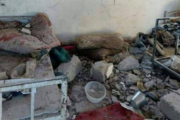 حمله نیرو های پیشمرگه به مقر حشدالشعبی در نینوا