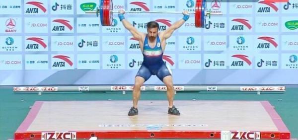 قهرمانی کیانوش در آسیا با چهره ای ناراحت