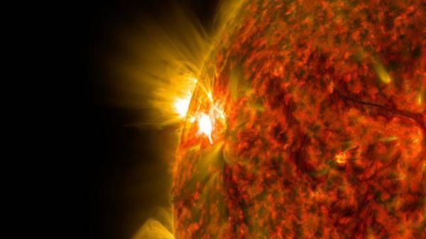 انفجار شدید در همسایگی خورشید