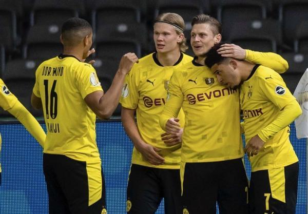 جام حذفی آلمان، تکمیل نتایج درخشان دورتموند با جام قهرمانی