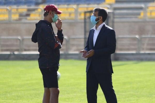 نشست ویژه برای بازیکنان فصل آینده، گل محمدی به باشگاه اسم می دهد