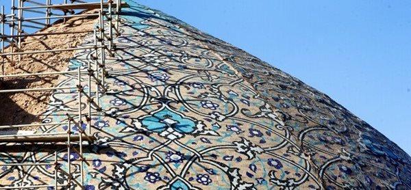 بازسازی گنبد مسجد شیخ لطف الله اصفهان و جواب هایی که جا ماندند