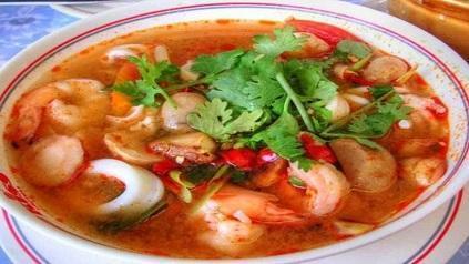 طرز تهیه سوپ تند تایلندی تام یام