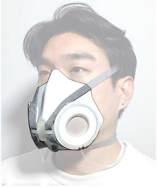 ماسکی که با ورزش و سطح آلودگی سازگار می گردد